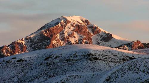 Red Conglomerate Peak, just...