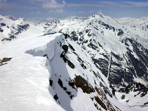 From Giasson summit: Passo...