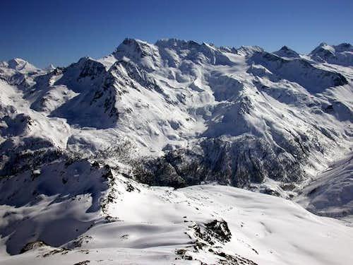 Taken from Mont de l'Arp...