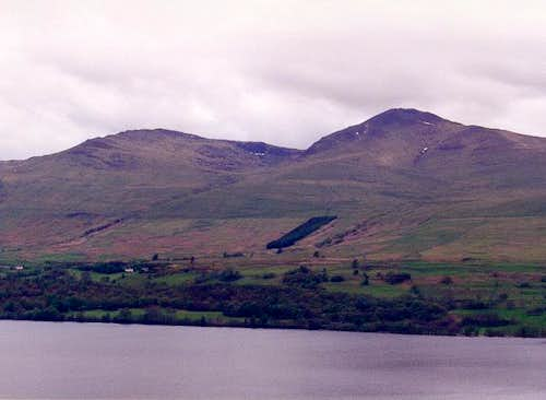 The Ben Lawers Range from the...