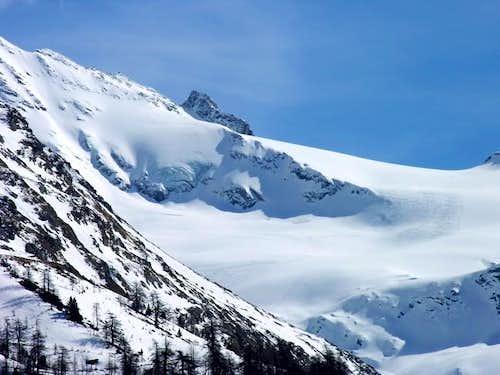 Il ghiacciaio del Giasson