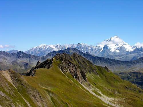 Il Grand Combin (4314 m)...