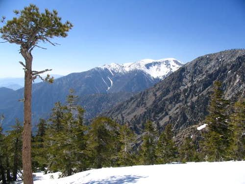 Telegraph Peak seen from the...