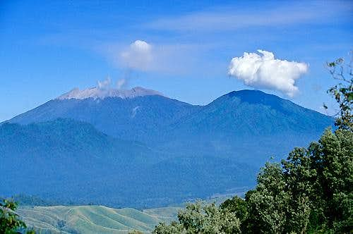 Raung from Ijen