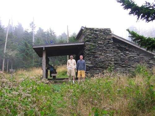 At Mt. LeConte Shelter