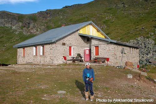 Mountain hut Golemo Ezero at...