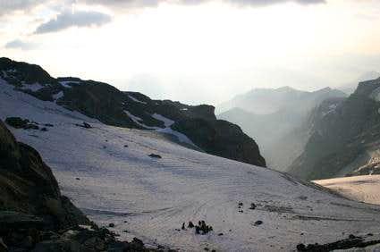 On the Monetier-glacier,...