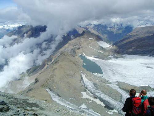 August 2004: from the summit,...