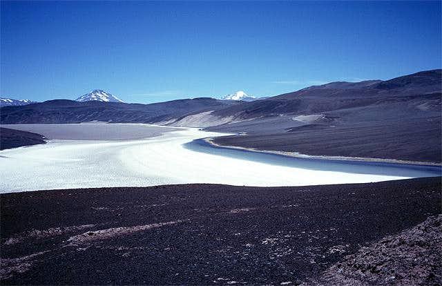 Salina de Laguna Verde, the...