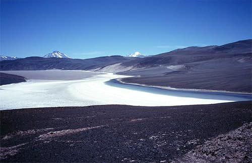 Salina de Laguna Verde, the...