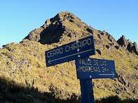 Chirripo summit push