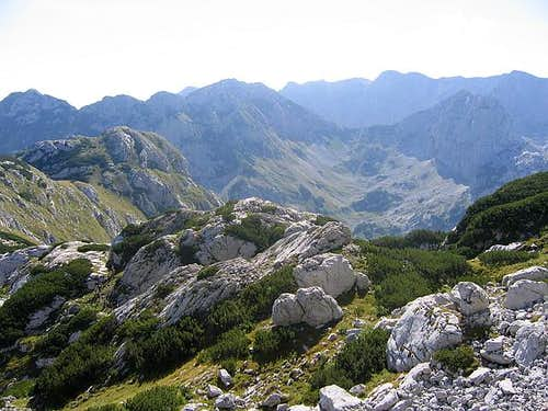 Cvorov Bogaz (2152 m) on...
