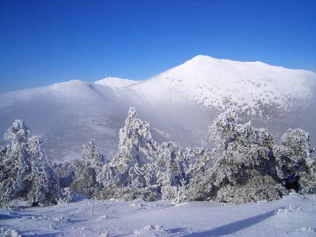 Montón de Trigo from Cercedilla (normal)