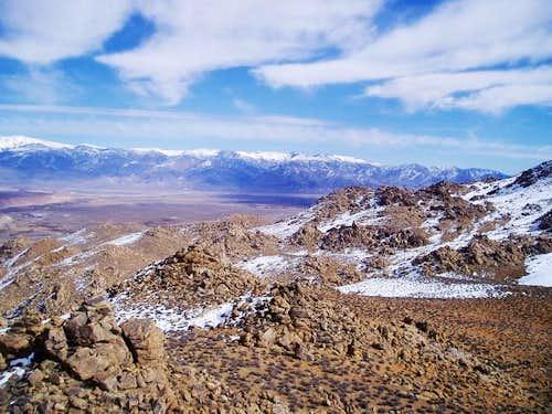 A view across the landscape...