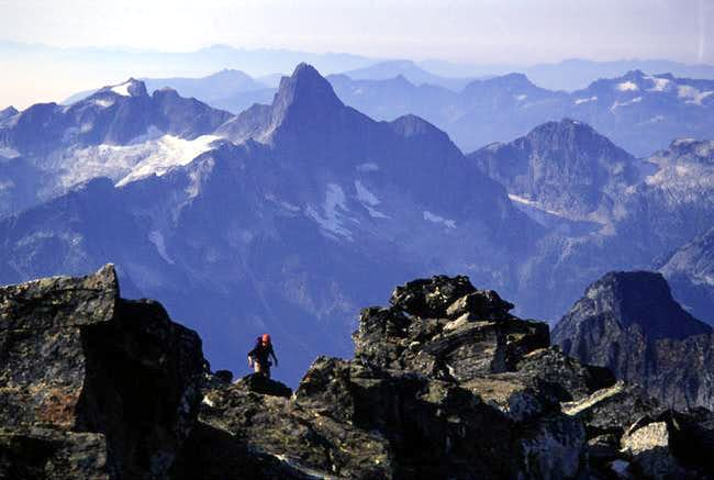 Theron nears the summit of...
