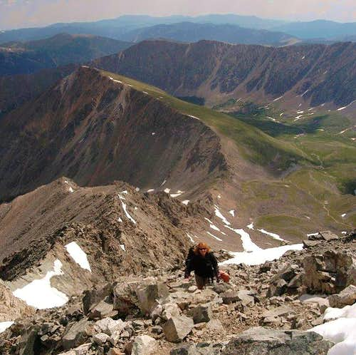 Finishing the Kelso Ridge