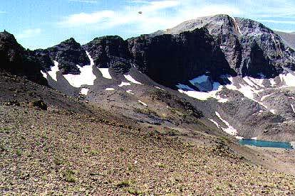 The North Face of Leavitt peak