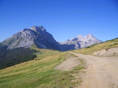Dinaric Alps; The summits of...