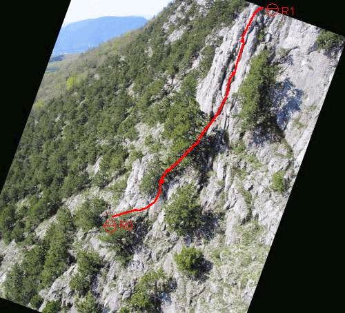 Buttress, Right Edge of West Massif