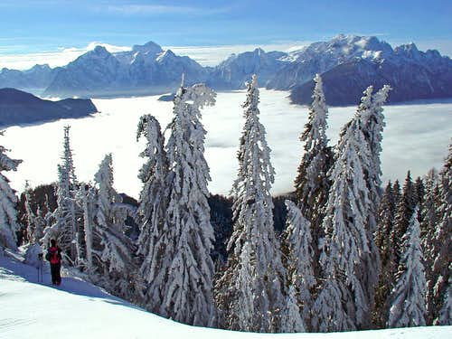 Julian Alps from below Baba