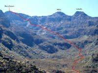 Mucuñuque route