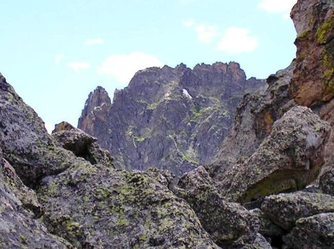 Summit ridge of Little...