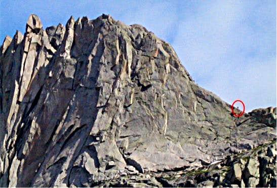 Wolf's Head East Ridge...