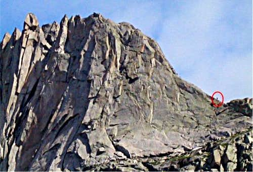 Wolf\'s Head East Ridge...