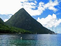 Gros Piton. St Lucia, West...