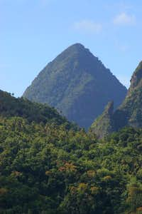 Gros Piton as seen from main...