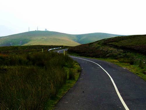 A view of Green Lowther from...