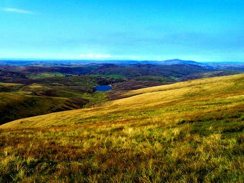 A view from Lowther Hill with...
