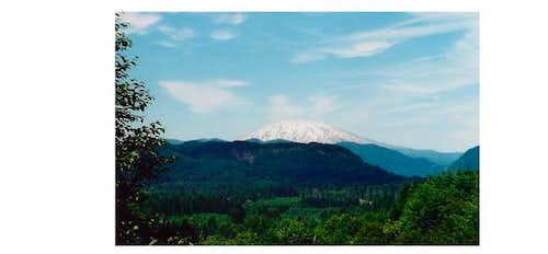 Mt St Helens from SR 503, on...