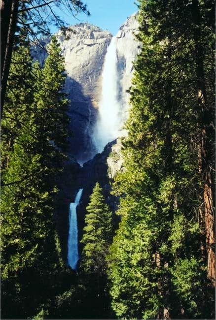 The Yosemite Falls - March 2001
