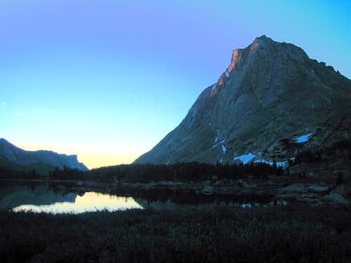 August 2005. Sunrise...