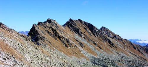 Cresta di Corleans and punta...