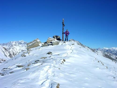 La punta Leisse (2771 m)