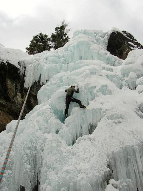 Feb 2006: Ouray Ice Park - me...