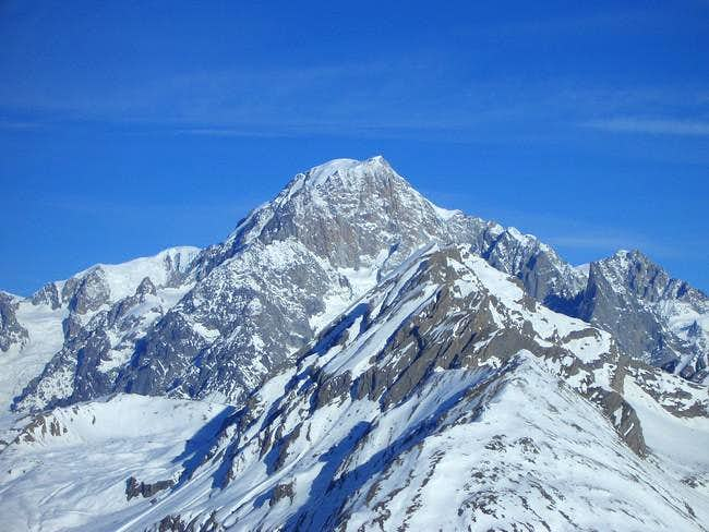 Mont Blanc from Chaz Dura...