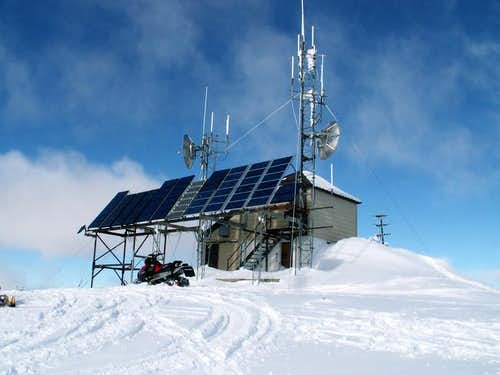Radio communications site at...