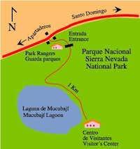 Mucubaji Park Map