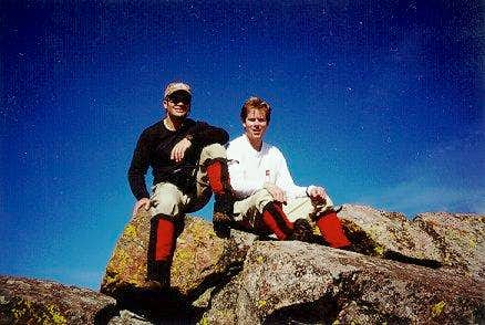 Ken and me on the summit of...