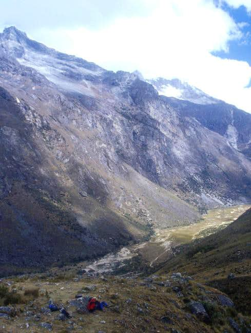 On your way to Taullipampa, a...
