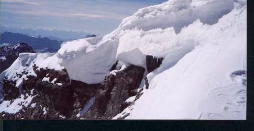 Cornices on Temple in August...