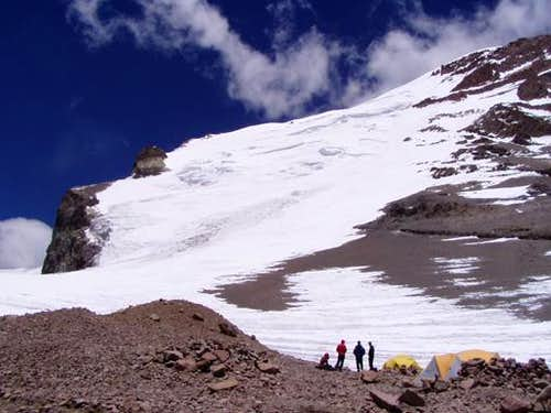 Polish Glacier from C2. 5850...