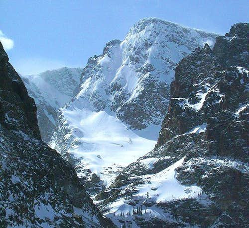 The East Face of Taylor Peak...
