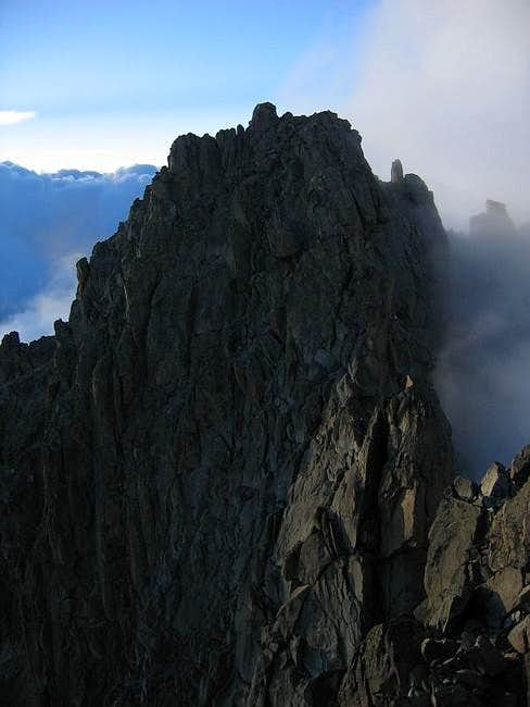 Batian (true summit of Mt....