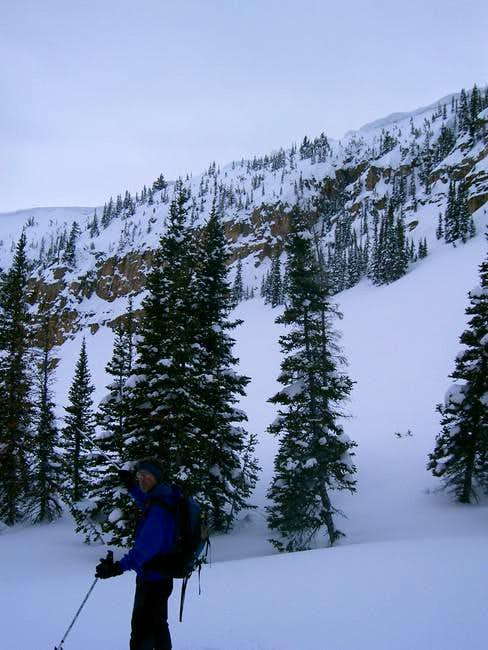 Cornices of the Northern part...
