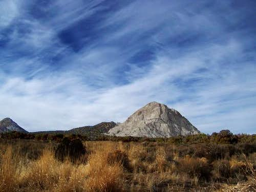 Crystal Peak contrasts with...