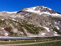 View from kite lake, june 2004